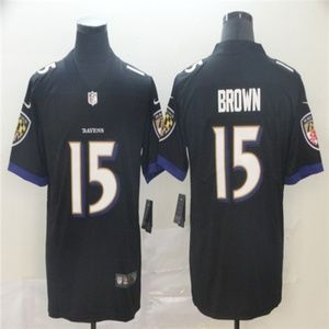 Baltimore Ravens #15 Marquise Brown Jersey